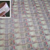 1000 Euro in 1000 Rupie