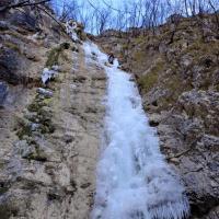 L'effimera cascata di Valbrona