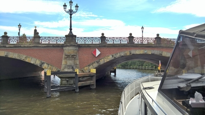 Germany Bridge over the River Spree