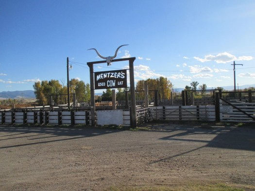 Mentzer's Used Cow Lot, Drummond, USA