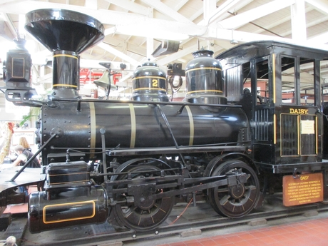 Daisy the steam engine, USA