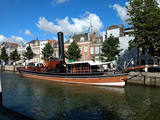 Pieter Boele steam tug in Dordrecht