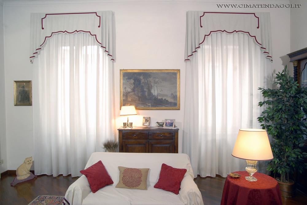 Questo prodotto è costituito in. Mantovane Per Tende Tende Con Mantovane Torino Cima Tendaggi