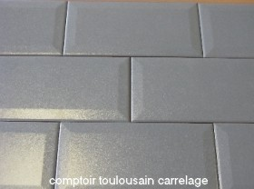 nouveaute carrelage metro gris metal
