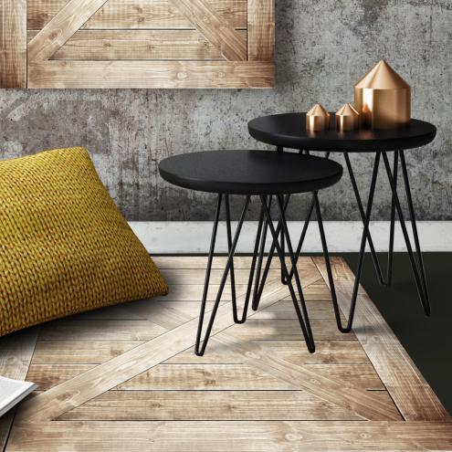tapis vinyle deco interieure design