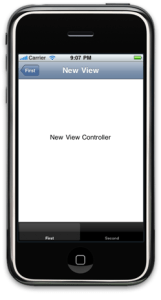 New View Controller