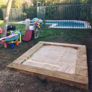 Arena de juegos para niños