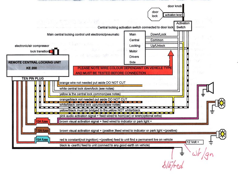 KE200instr asl 246007 wire diagram diagram wiring diagrams for diy car repairs  at crackthecode.co
