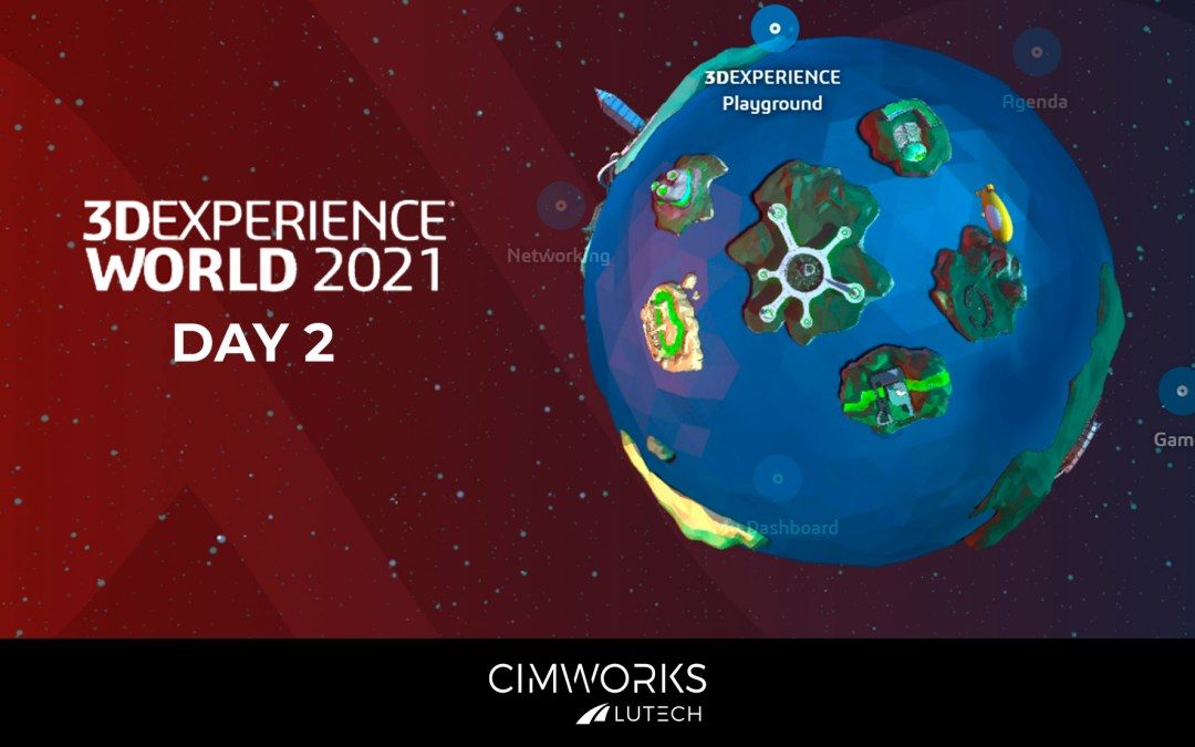 3DEXPERIENCE WORLD 2021. Day 2