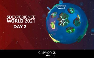 3DEXPERIENCE WORLD 2021. Day 2