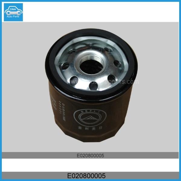 E020800005 1 - geely ck oil filter OEM E020800005