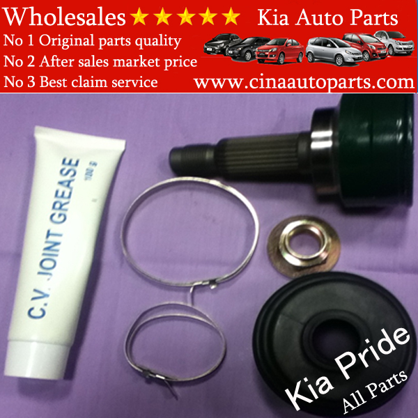 C.V JOINT set FOR PRIDE KIA MOTOR19T 起亚 Pride车型(19T 等速接头 - C.V JOINT set FOR PRIDE KIA MOTOR(19T)