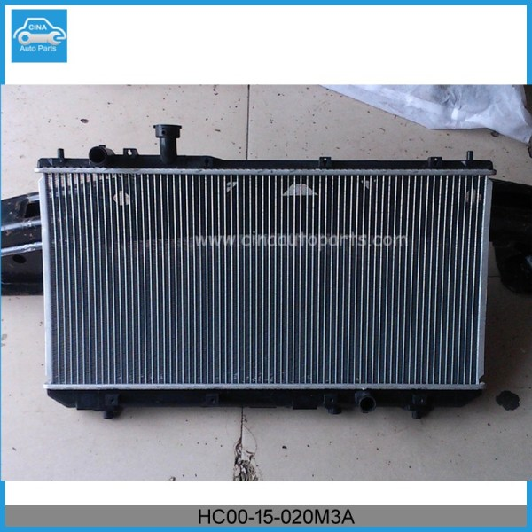 HC00 15 020M3A radiator - Radiator catalog from cina auto parts company