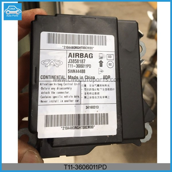 T11 3606011PD - Chery tiggo Airbag Controller OEM T11-3606011PD