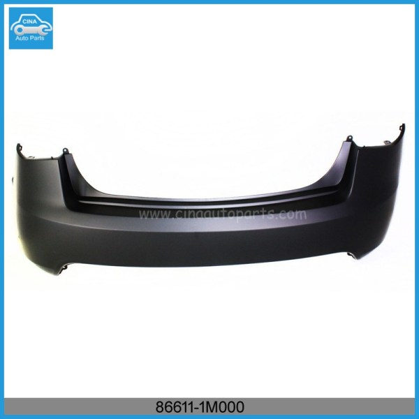 86611 1M000 - 866111M000 KI1100145 New Bumper Cover Rear Upper Sedan for Kia Forte 2010-2013