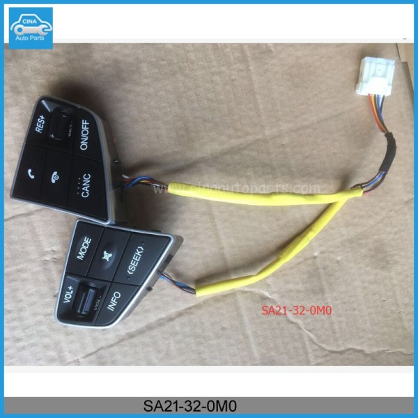 SA21 32 0M0 - Haima Steering Wheel Mounted Cruise Control Switch Buttons,OEM SA21-32-0M0 HAIMA SWITCH-AUDIO