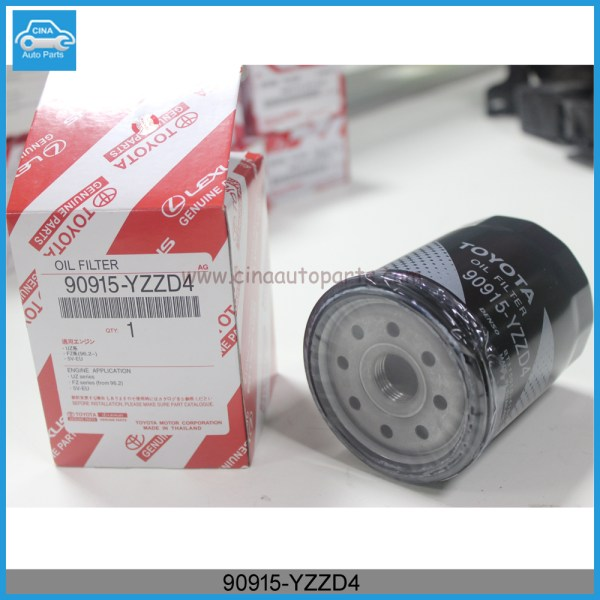 90915 YZZD4 - OIL FILTER for toyota cars 90915-YZZD4 /90915-20004/90915-20002