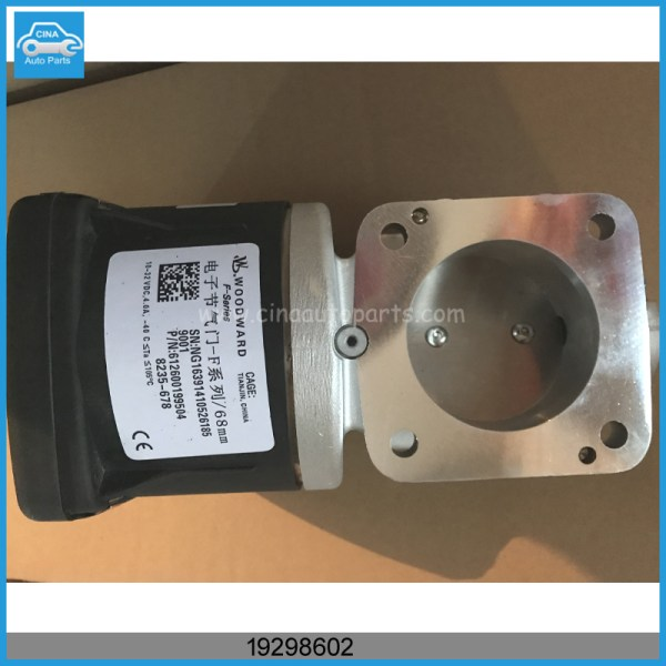 19298602节气门 - FAW J6 Electronic Throttle valve OEM 19298602