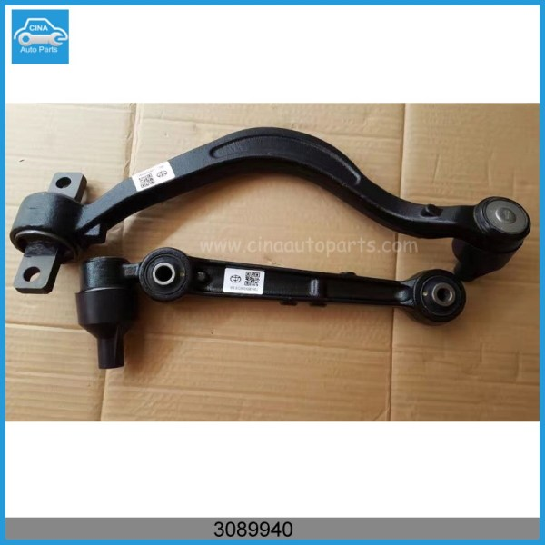 3089940 - Front suspension lever Middle left (curve) Assy BRILLIANCE M1, M2
