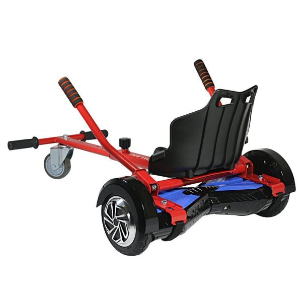"hoverboard cart for kid - Weipa Hover Kart Self Balance Scooter, Drifting Mini Cart Conversion Kit 6.5"" Hoverboard Accessories for Off-Road Go-Karting, Hover Board Not Included"