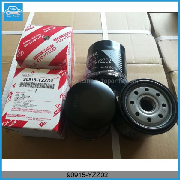 90915 YZZ02 - Toyota Oil Filter 90915-YZZD2