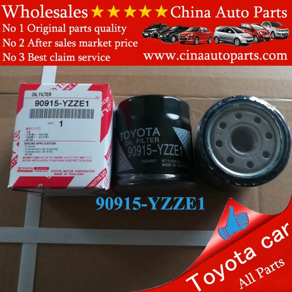 90915 YZZE1 - oil filter for toyota OEM 90915-yzze1