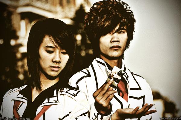 Chinese cosplayers
