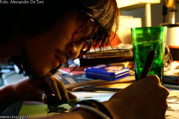 Chinese comic writer