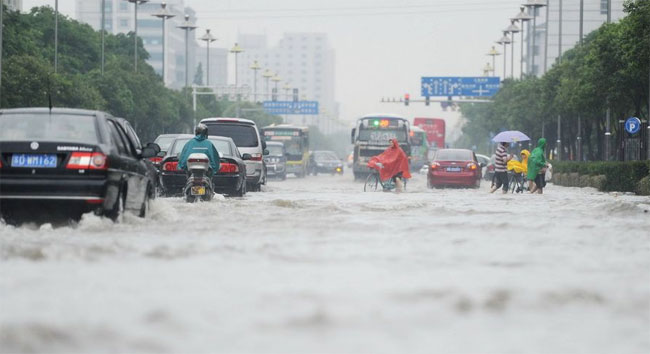 yangzhou-2 pictures of floods in China