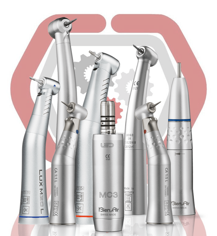 We repair all major brands of dental handpieces.