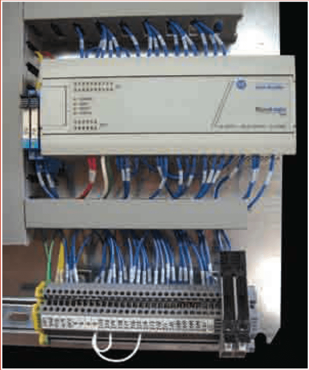 PLC Machien control for wire drawers