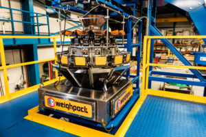 Weighing and counting multihead for packaging and labeling