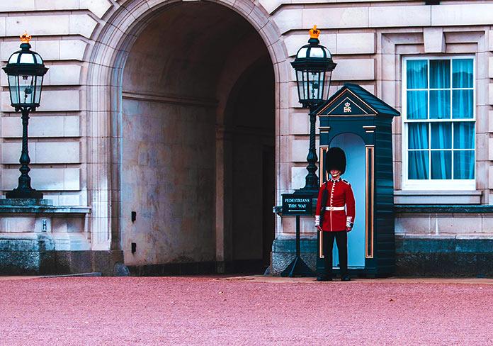 Guardia del palacio de Buckingham