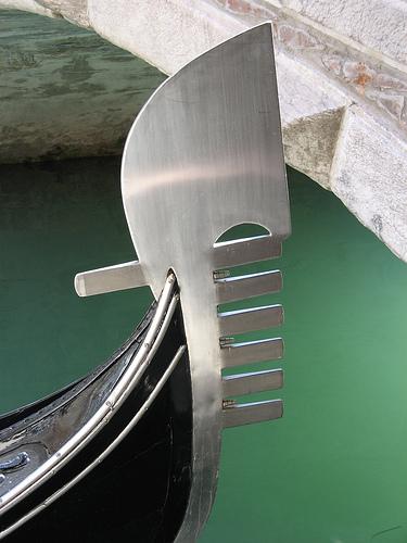 Ferro Da Gondola.Curiosita Il Fero Da Prova Della Gondola Cincotto Arte