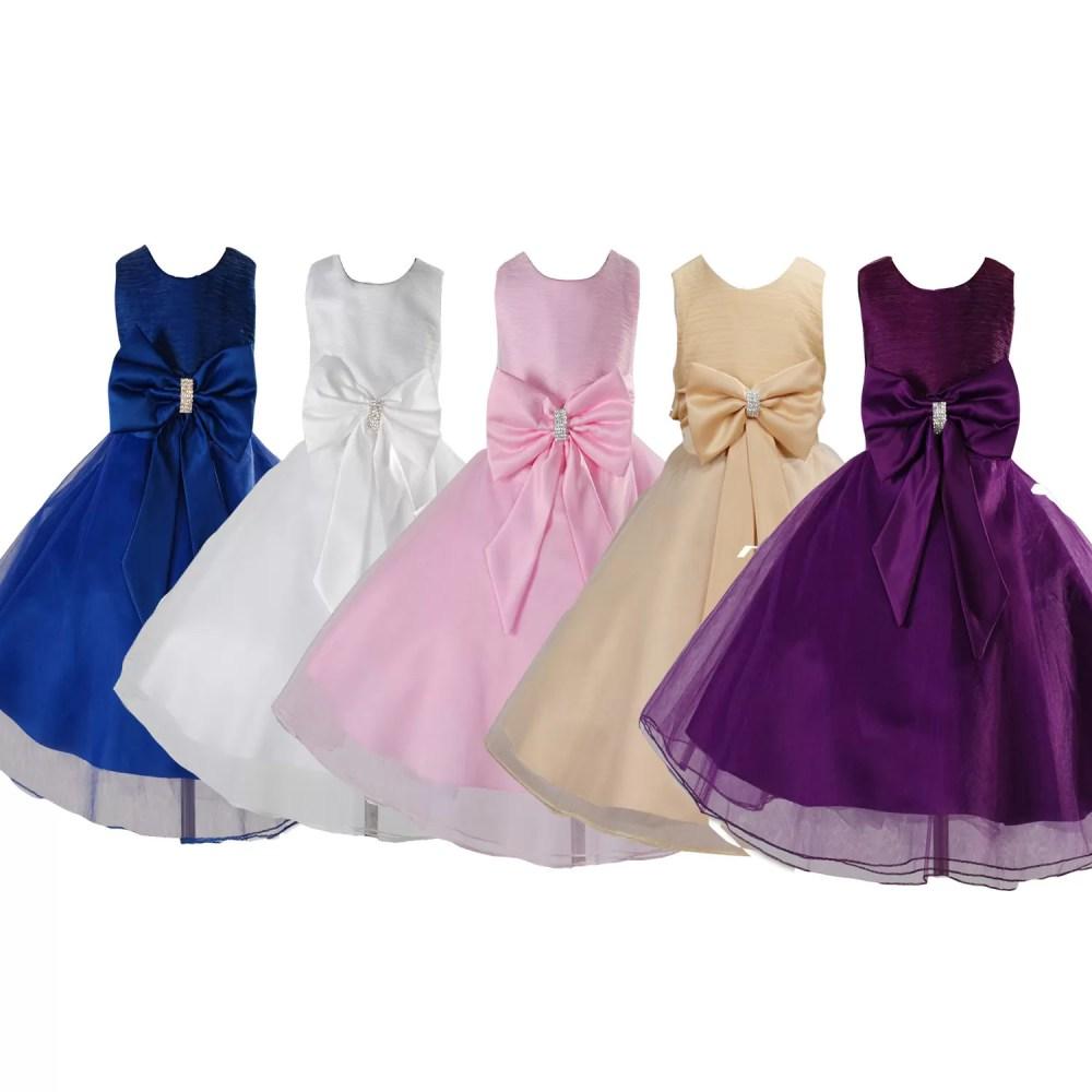Girls Flower Girl Party Dress Bridesmaid Dress 280