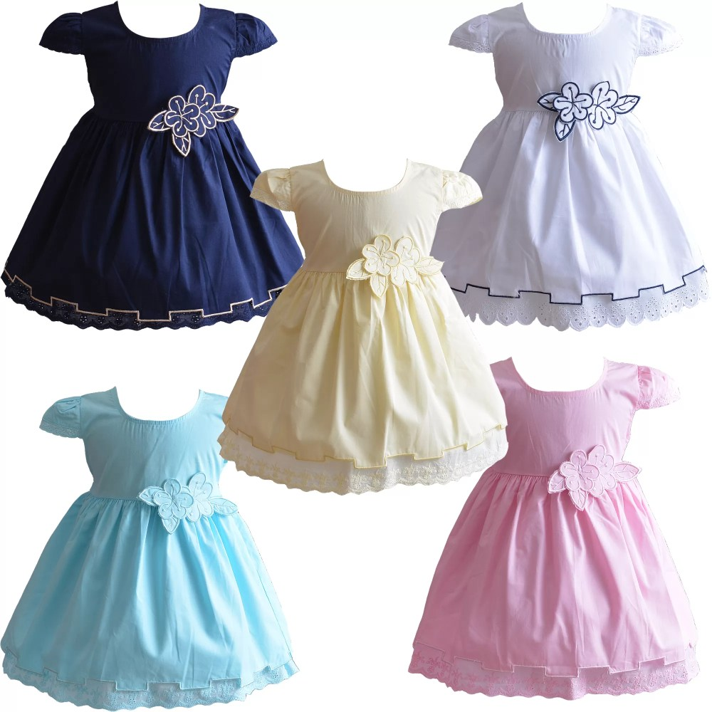 Baby Girls Summer Cotton Dress XL9001