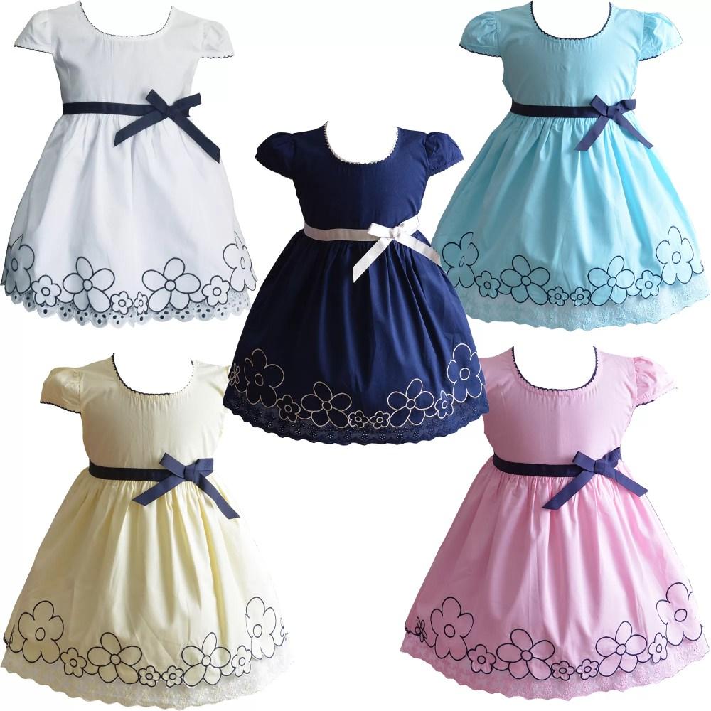 Baby Girls Summer Cotton Dress XL9006