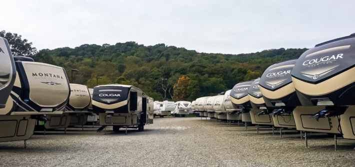 camping world lot