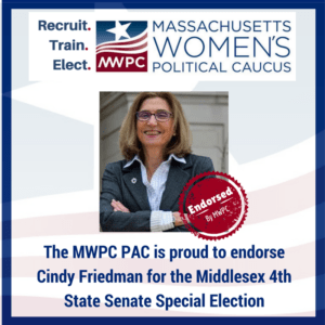 Mass. Women's Political Caucus Endorsement Badge
