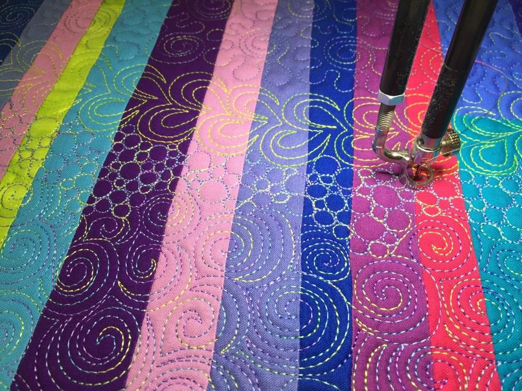 Starry Night detail stitching - Cindy Grisdela