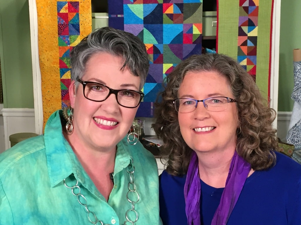 Quilting Arts TV with Susan Brubaker Knapp -Cindy Grisdela