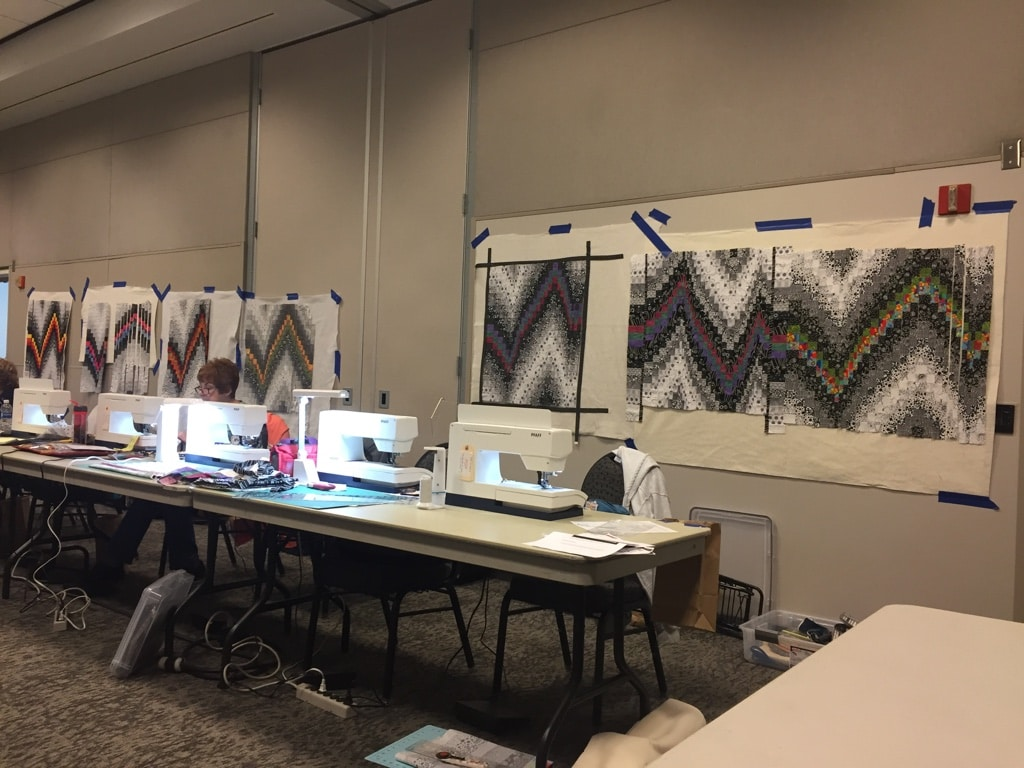 Bargello Class at Road to California 2018 - Cindy Grisdela