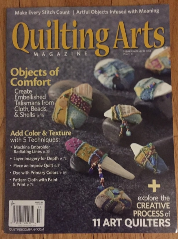 Quilting Arts Feb/Mar 2018 - Cindy Grisdela