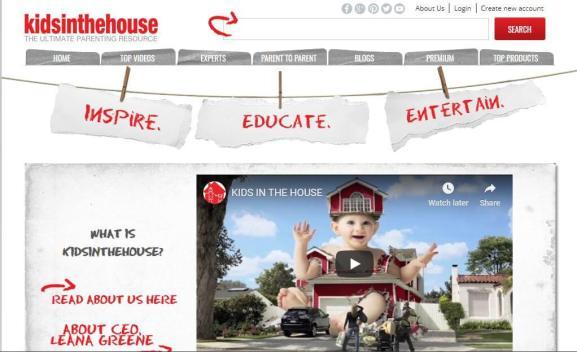Kidsinthehouse About page