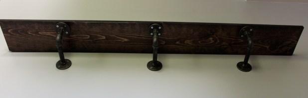 mounted shelf