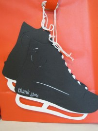 Skate thank you tag
