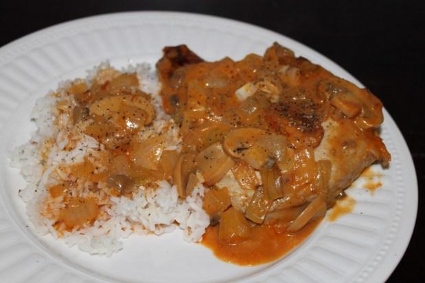 pork mushroom casserole
