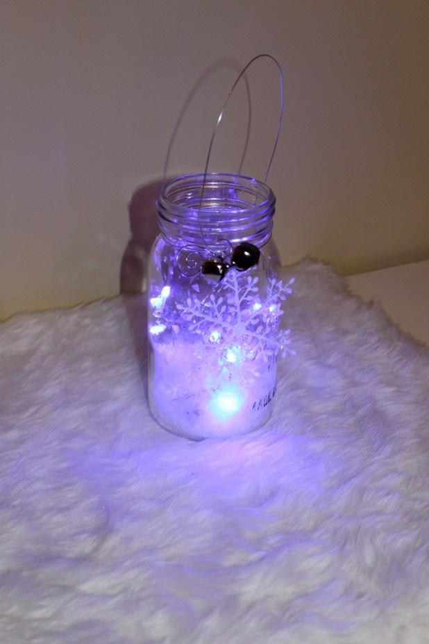 Finished mason jar project