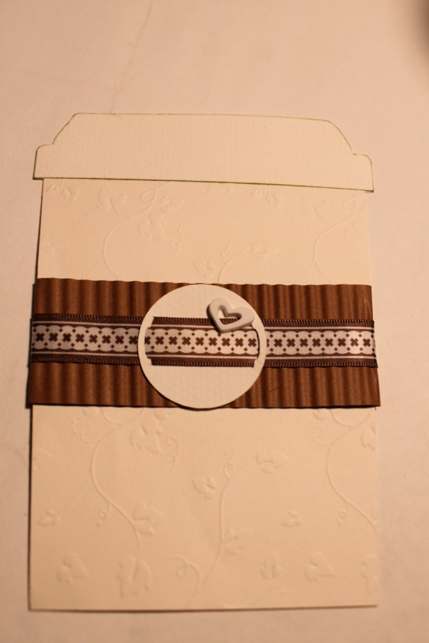 Coffee Cup Homemade Card
