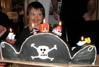Pirate Hat Cake